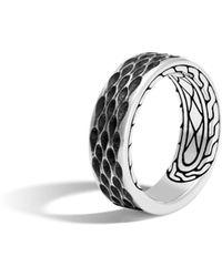 John Hardy - Naga Band Ring - Lyst