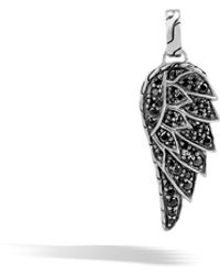 John Hardy - Eagle Pendant With Black Sapphire - Lyst