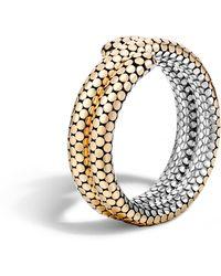 John Hardy - Double Coil Bracelet - Lyst