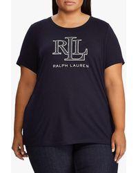 Ralph Lauren - Lauren Logo - Crest Graphic Tee - Lyst