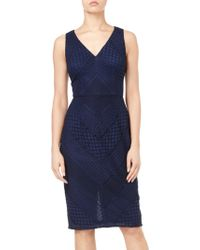 Adrianna Papell - Vintage Lace Dress - Lyst