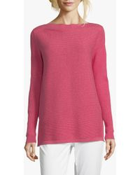Betty & Co. Ribbed Jumper - Pink