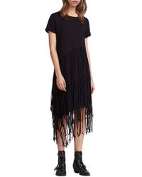 AllSaints Tami Layer Dress - Black