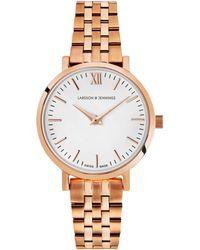 Larsson & Jennings - Women's Lugano Vasa Bracelet Strap Watch - Lyst