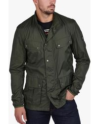 Barbour International Packable Duke Coat - Green