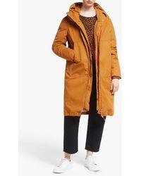 Just Female Steal Coat - Orange