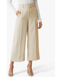 Forever New Angie Belted Culottes - White