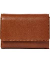 John Lewis - Ellie Small Leather Foldover Purse - Lyst