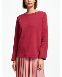 Finery London Saffron Sweatshirt - Red
