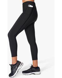 Sweaty Betty Sweaty Better Thermo 7/8 Gym Leggings - Black