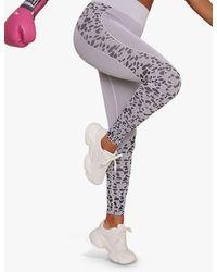 Chi Chi London Activewear Brie Leggings - Grey