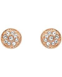 Melissa Odabash - Swarovski Crystal Pave Stud Earrings - Lyst