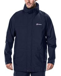 Berghaus - Long Cornice Gore-tex Men's Interactive Waterproof Hooded Jacket - Lyst