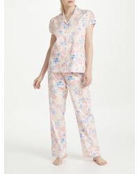 John Lewis - Arizona Floral Print Cotton Pyjama Set - Lyst