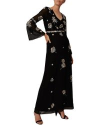 Phase Eight - Collection 8 Beaded Flower Dress - Lyst