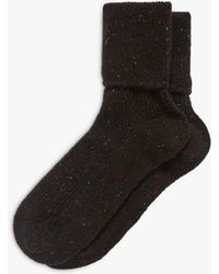 Brora - Cashmere Donegal Socks - Lyst