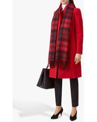 Hobbs - Red 'romy' Coat - Lyst