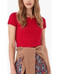 Brora Cotton T-shirt - Red