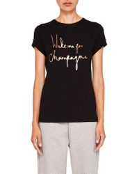 Ted Baker - Ted Says Relax Lolyata Wake Me Up For Champagne T-shirt - Lyst