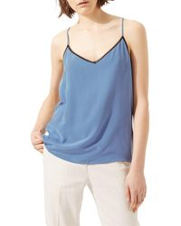 Jigsaw Lace Insert Camisole - Blue