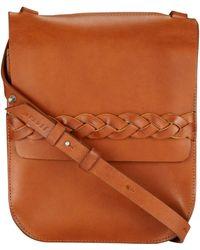 Jigsaw Hadley Cross Body Bag - Brown
