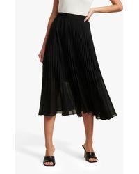 Forever New Harper Pleated Skirt - Black