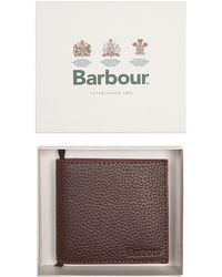 Barbour - Leather Wallet - Lyst