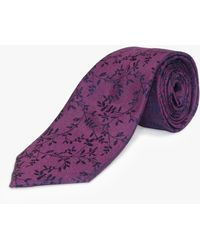 Richard James - Leaf Silk Tie - Lyst