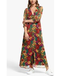Gestuz Tess Floral Maxi Dress - Multicolour