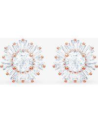 Swarovski - Crystal Sunshine Stud Earrings - Lyst