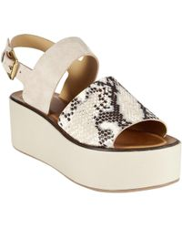 Modern Rarity - J Mara Flatform Sandals - Lyst
