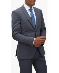 Jaeger - Mouline Plain Weave Slim Fit Suit Jacket - Lyst