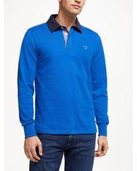 GANT - Original Heavy Solid Rugger Sweatshirt - Lyst
