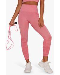 Chi Chi London Activewear Isla Leggings - Pink