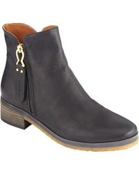 See By Chloé Jamie Block Heeled Ankle Boots - Black