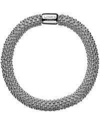 Links of London Effervescence Sterling Silver Star Bracelet - Metallic