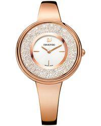 Swarovski - 5269250 Women's Crystalline Round Bracelet Strap Watch - Lyst