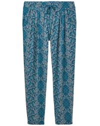 White Stuff - Katie Printed Trousers - Lyst