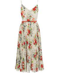 Oasis | Floral Midi Dress | Lyst