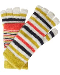 White Stuff - Riley Striped Mittens - Lyst