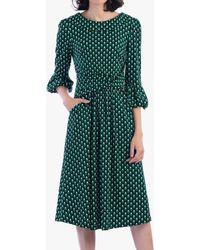 Jolie Moi - Half Sleeves Turtle Neck Dress - Lyst
