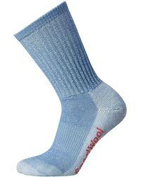 Smartwool Women's Hike Light Crew Socks - Blue