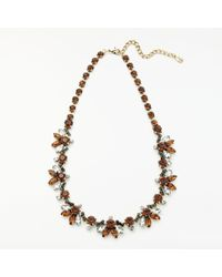 John Lewis - Crystal Statement Necklace - Lyst
