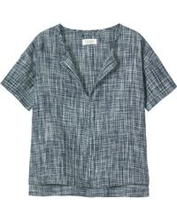 Toast - Space Dyed Linen Top - Lyst