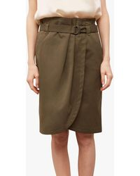 Gerard Darel Lara Belted Skirt - Multicolour