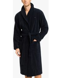 Tommy Hilfiger - Pure Cotton Towelling Robe - Lyst