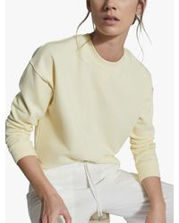Reiss Brooke Lounge Sweatshirt - Yellow