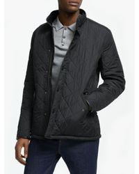 Barbour Lifestyle Powell Quilted Jacket - Black
