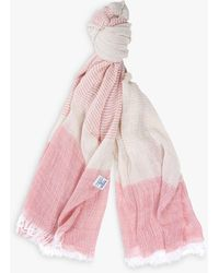 Barbour Whitmore Cotton Wrap - Pink