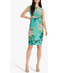 Phase Eight Leslie Floral Dress - Green